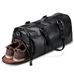 Men's Black Travel Handbag (black)
