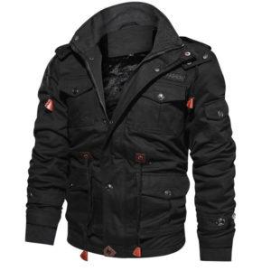 Military bomber jacket for Men