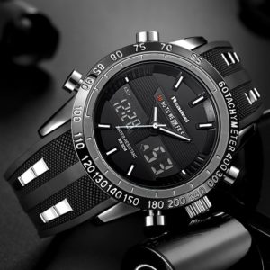 Men Sports Waterproof LED Digital Watch