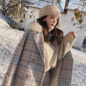 Women Coat Warm Outerwear