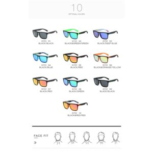 DUBERY Polarized Sunglasses For Men n Women