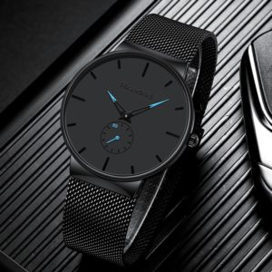 Ultra Thin Casual Men's Waterproof Watch