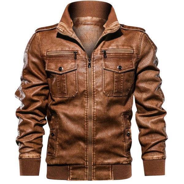 Pu Jacket Khaki