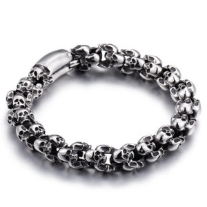 Men's Skulls Shaped Bracelet