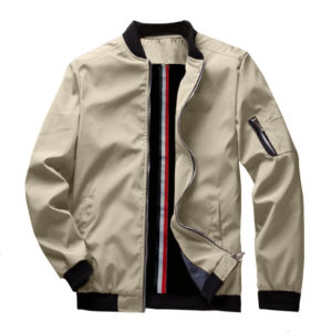 Men's Spring Bomber Jacket
