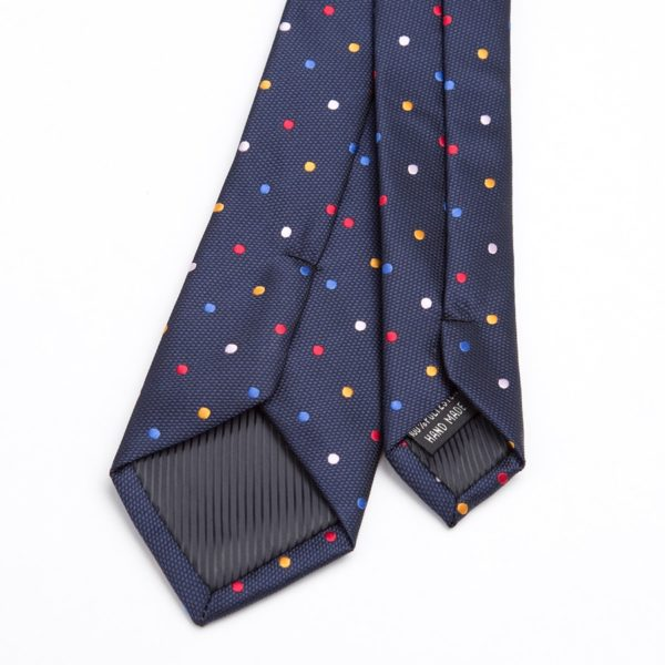Men's Printed and Dotted Tie
